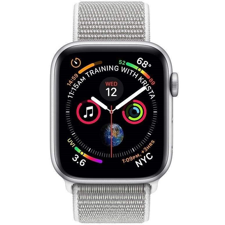 ساعت هوشمند اپل واچ 4 مدل 44mm Aluminum Case with Sport Loop Band