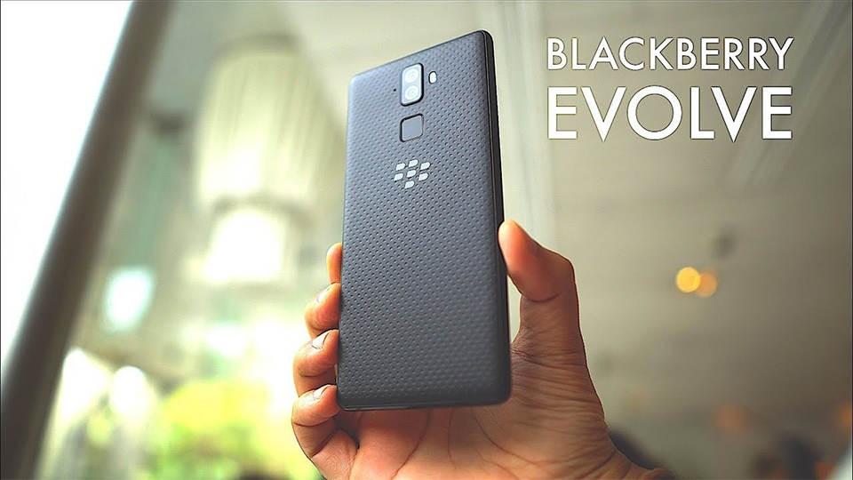 EVOLVE BLACKBERRY